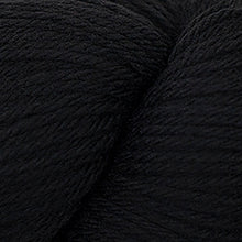 Load image into Gallery viewer, Skein of Cascade 220 Worsted weight yarn in the color Black (Black) for knitting and crocheting.