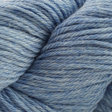Load image into Gallery viewer, Skein of Cascade 220 Worsted weight yarn in the color Blue Quartz Heather (Blue) for knitting and crocheting.