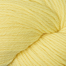 Load image into Gallery viewer, Skein of Cascade 220 Worsted weight yarn in the color Butter (Yellow) for knitting and crocheting.