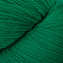 Load image into Gallery viewer, Skein of Cascade 220 Worsted weight yarn in the color Christmas Green (Green) for knitting and crocheting.