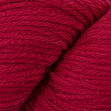 Load image into Gallery viewer, Skein of Cascade 220 Worsted weight yarn in the color Christmas Red (Red) for knitting and crocheting.