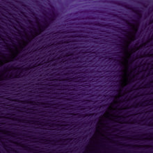 Load image into Gallery viewer, Skein of Cascade 220 Worsted weight yarn in the color Concord Grape (Purple) for knitting and crocheting.