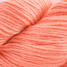 Load image into Gallery viewer, Skein of Cascade 220 Worsted weight yarn in the color Desert Flower (Orange) for knitting and crocheting.