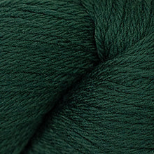 Load image into Gallery viewer, Skein of Cascade 220 Worsted weight yarn in the color Forest Green (Green) for knitting and crocheting.