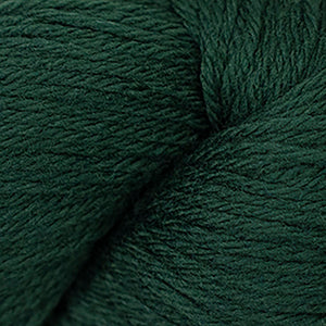 Skein of Cascade 220 Worsted weight yarn in the color Forest Green (Green) for knitting and crocheting.