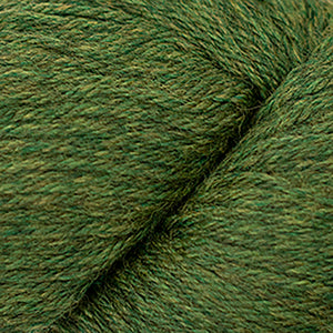 Skein of Cascade 220 Worsted weight yarn in the color Irelande (Green) for knitting and crocheting.
