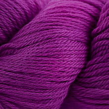 Load image into Gallery viewer, Skein of Cascade 220 Worsted weight yarn in the color Magenta (Pink) for knitting and crocheting.