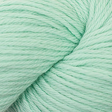 Load image into Gallery viewer, Skein of Cascade 220 Worsted weight yarn in the color Mint (Green) for knitting and crocheting.