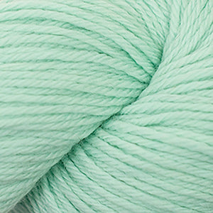 Skein of Cascade 220 Worsted weight yarn in the color Mint (Green) for knitting and crocheting.