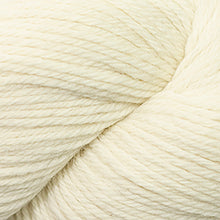 Load image into Gallery viewer, Skein of Cascade 220 Worsted weight yarn in the color Natural (Cream) for knitting and crocheting.