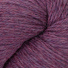 Load image into Gallery viewer, Skein of Cascade 220 Worsted weight yarn in the color Razzleberry Heather (Pink) for knitting and crocheting.