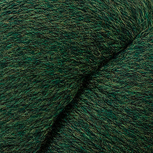 Skein of Cascade 220 Worsted weight yarn in the color Shire (Green) for knitting and crocheting.