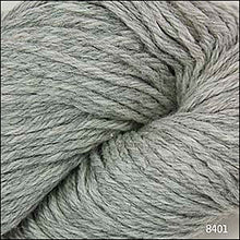 Load image into Gallery viewer, Skein of Cascade 220 Worsted weight yarn in the color Silver Grey (Gray) for knitting and crocheting.