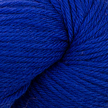 Load image into Gallery viewer, Skein of Cascade 220 Worsted weight yarn in the color Stratosphere (Blue) for knitting and crocheting.