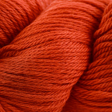 Load image into Gallery viewer, Skein of Cascade 220 Worsted weight yarn in the color Tiger Lily (Orange) for knitting and crocheting.