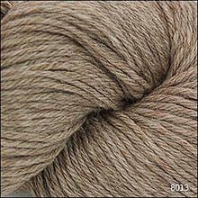 Load image into Gallery viewer, Skein of Cascade 220 Worsted weight yarn in the color Walnut Heather (Brown) for knitting and crocheting.