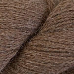 Skein of Cascade Alpaca Lace Lace weight yarn in the color Camel (Brown) for knitting and crocheting.