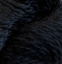 Load image into Gallery viewer, Skein of Cascade Baby Alpaca Chunky Bulky weight yarn in the color Black (Black) for knitting and crocheting.