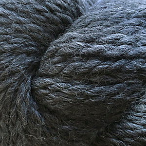 Skein of Cascade Baby Alpaca Chunky Bulky weight yarn in the color Charcoal (Gray) for knitting and crocheting.