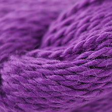 Load image into Gallery viewer, Skein of Cascade Baby Alpaca Chunky Bulky weight yarn in the color Grape Juice (Purple) for knitting and crocheting.
