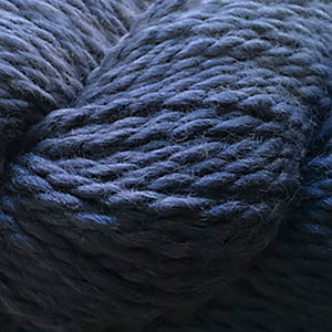 Skein of Cascade Baby Alpaca Chunky Bulky weight yarn in the color Nightshadow Blue (Blue) for knitting and crocheting.