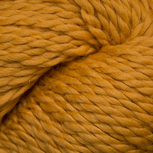 Skein of Cascade Baby Alpaca Chunky Bulky weight yarn in the color Sunflower (Yellow) for knitting and crocheting.