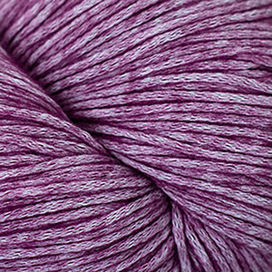 Skein of Cascade Cantata Worsted weight yarn in the color Berry (Purple) for knitting and crocheting.