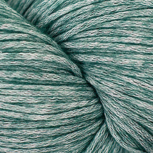 Load image into Gallery viewer, Skein of Cascade Cantata Worsted weight yarn in the color Dark Green (Green) for knitting and crocheting.