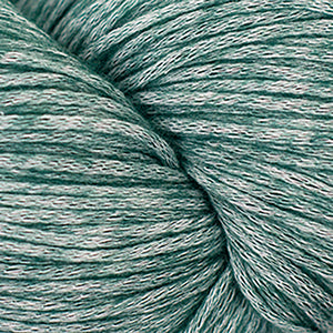 Skein of Cascade Cantata Worsted weight yarn in the color Dark Green (Green) for knitting and crocheting.