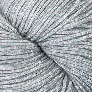 Skein of Cascade Cantata Worsted weight yarn in the color Grey (Gray) for knitting and crocheting.