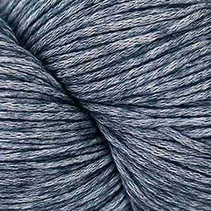 Skein of Cascade Cantata Worsted weight yarn in the color Navy (Blue) for knitting and crocheting.