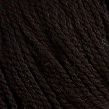 Load image into Gallery viewer, Skein of Cascade Ecological Wool Bulky weight yarn in the color Ebony (Brown) for knitting and crocheting.