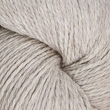 Load image into Gallery viewer, Skein of Cascade Ecological Wool Bulky weight yarn in the color Platinum (Cream) for knitting and crocheting.