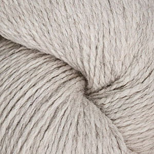 Skein of Cascade Ecological Wool Bulky weight yarn in the color Platinum (Cream) for knitting and crocheting.