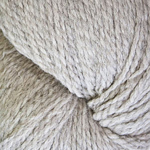 Skein of Cascade Ecological Wool Bulky weight yarn in the color Silver (Tan) for knitting and crocheting.