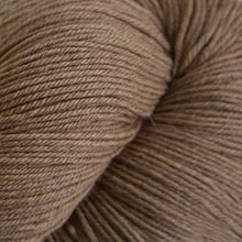 Load image into Gallery viewer, Skein of Cascade Heritage Sock weight yarn in the color Camel (Tan) for knitting and crocheting.