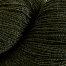 Load image into Gallery viewer, Skein of Cascade Heritage Sock weight yarn in the color Mossy Rock (Green) for knitting and crocheting.