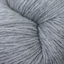 Load image into Gallery viewer, Skein of Cascade Heritage Sock weight yarn in the color Silver Grey (Gray) for knitting and crocheting.
