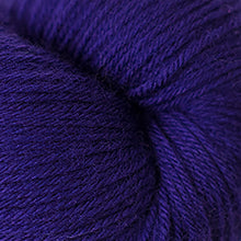 Load image into Gallery viewer, Skein of Cascade Heritage Sock weight yarn in the color Violet Indigo (Purple) for knitting and crocheting.