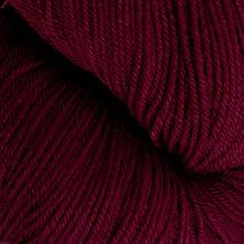 Load image into Gallery viewer, Skein of Cascade Heritage Sock weight yarn in the color Wine (Red) for knitting and crocheting.