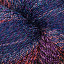 Load image into Gallery viewer, Skein of Cascade Heritage Wave Sock weight yarn in the color Stained Glass (Purple) for knitting and crocheting.