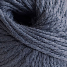 Load image into Gallery viewer, Skein of Cascade Llana Grande Super Bulky weight yarn in the color Blue Steel (Blue) for knitting and crocheting.