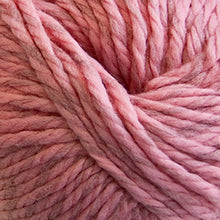 Load image into Gallery viewer, Skein of Cascade Llana Grande Super Bulky weight yarn in the color Cherry Blossom (Pink) for knitting and crocheting.