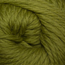 Load image into Gallery viewer, Skein of Cascade Llana Grande Super Bulky weight yarn in the color Granny Smith (Green) for knitting and crocheting.