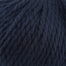 Load image into Gallery viewer, Skein of Cascade Llana Grande Super Bulky weight yarn in the color Navy (Blue) for knitting and crocheting.