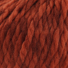 Load image into Gallery viewer, Skein of Cascade Llana Grande Super Bulky weight yarn in the color Sienna (Orange) for knitting and crocheting.