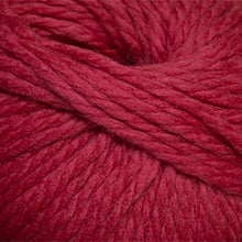 Load image into Gallery viewer, Skein of Cascade Llana Grande Super Bulky weight yarn in the color Tomato Puree (Red) for knitting and crocheting.
