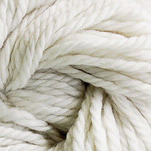 Load image into Gallery viewer, Skein of Cascade Llana Grande Super Bulky weight yarn in the color White (White) for knitting and crocheting.