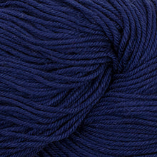 Load image into Gallery viewer, Skein of Cascade Nifty Cotton Worsted weight yarn in the color Sapphire (Blue) for knitting and crocheting.