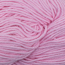 Load image into Gallery viewer, Skein of Cascade Nifty Cotton Worsted weight yarn in the color Soft Pink (Pink) for knitting and crocheting.